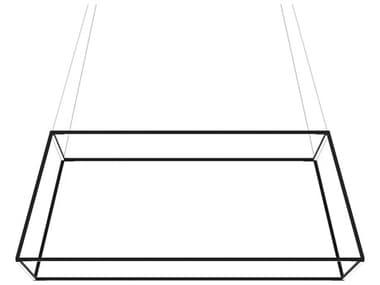 Koncept Z-bar Matte Black 51'' Wide LED Pendant KONZBP48RSSWMTBCNP