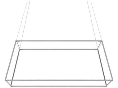Koncept Z-bar Silver 51'' Wide LED Pendant KONZBP48RSSWSILCNP