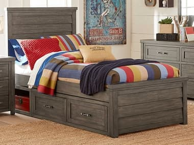 Legacy Classic Furniture Bunkhouse Aged Barnwood Twin Panel Bed LCN88304103K