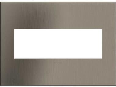 Legrand Cast Metals Satin Nickel Three-Gang Wall Plate LGRAWC3GSN4