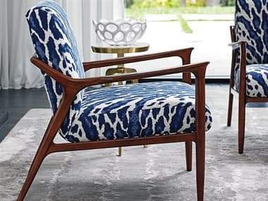 Lexington Take Five Rosewood Accent Chair LX178311