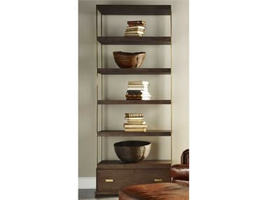 Lillian August Casegoods Bronze / Walnut Bookcase LNALA1535001
