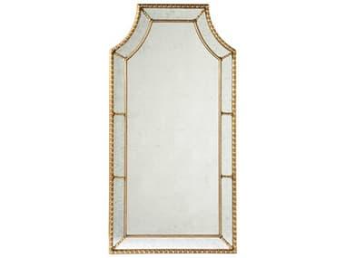 Lillian August Casegoods Vintage Gold Leaf / Eglomise Mirror 32''W x 61''H Staffordshire Wall Mirror LNALA8204001