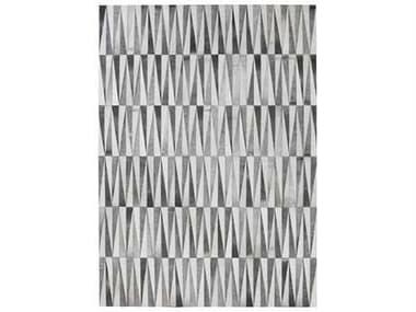 Linie Design Opal Grey Rectangular Area Rug LDOPALGREY