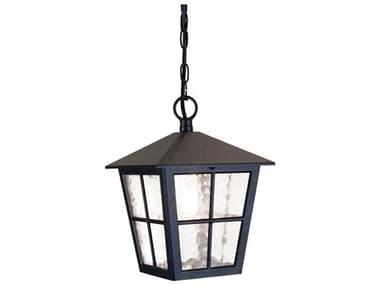 Lucas McKearn Canterbury English Black 1-light Outdoor Hanging Light LCKELBL48M