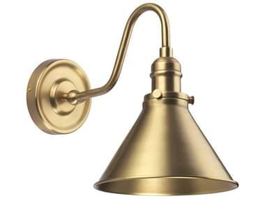 Lucas McKearn Provence Aged Brass 1-light Industrial Wall Sconce LCKELPV1AB