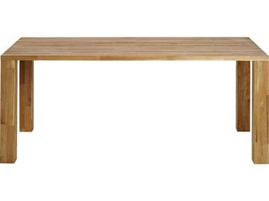 Mash Studios Laxseries Natural Linseed Oil 72'' Wide Rectangular Dining Table MSHLAX363619