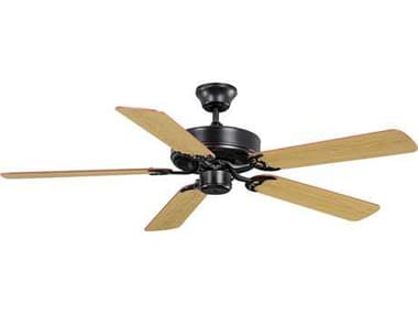 Maxim Lighting Basic-Max Oil Rubbed Bronze with Walnut & Pecan Blades 52'' Wide Ceiling Fan MX89905OIWP