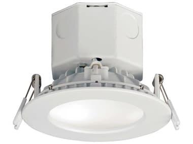 Maxim Lighting Cove White 1-light 4'' Wide Glass 3000K LED Recessed Light MX57792WTWT