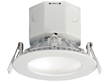 Maxim Lighting Cove White 1-light 4'' Wide Glass 4000K LED Recessed Light MX57793WTWT