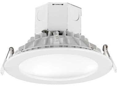 Maxim Lighting Cove White 1-light 6'' Wide Glass 4000K LED Recessed Light MX57798WTWT