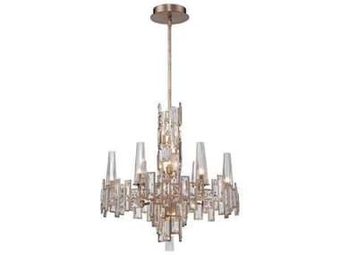 Metropolitan Lighting Bel Mondo Luxor Gold 12-Lights 25'' Wide Chandelier METN6676274