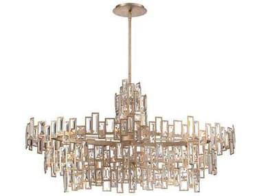 Metropolitan Lighting Bel Mondo Luxor Gold 21-Lights 44.5'' Wide Island Light METN6679274
