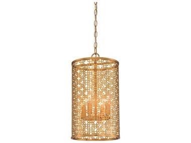 Metropolitan Lighting Blairmoor Honey Gold 4-light 11'' Wide Mini Pendants METN7785248