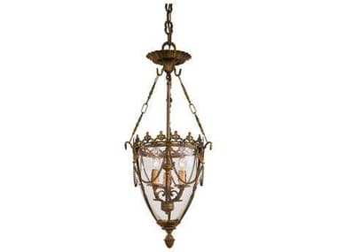Metropolitan Lighting Foyer Antique Bronze Patina Three-Lights 12'' Wide Pendant Light METN2337OXB