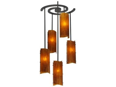 Meyda Tiffany Vorte Five-Light 34 Wide Grand Chandelier MY125781
