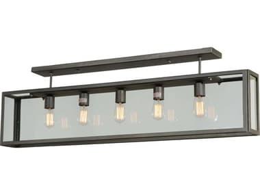 Meyda Tiffany Affinity Five-Light Semi-Flush Mount Light MY139731