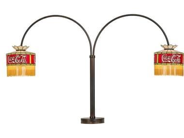 Meyda Glass Tiffany Floor Lamp MY179340