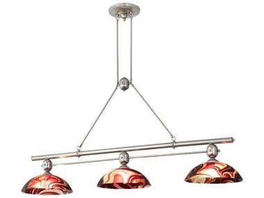 Meyda 70'' Wide Glass Island Light MY205150