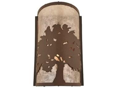 Meyda Tiffany Oak Tree Wall Sconce MY118535