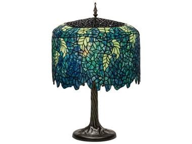 Meyda Tiffany Wisteria Multi-Color Buffet Lamp MY118689