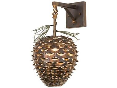 Meyda Glass Rustic Lodge Vanity Light MY176185
