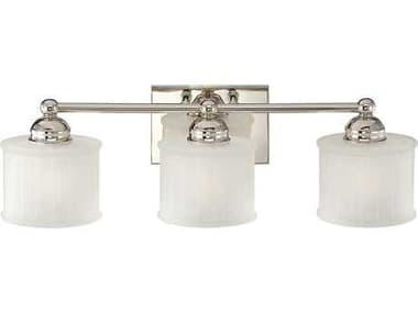 Minka Lavery 1730 Series Polished Nickel Glass Vanity Light MGO67331613