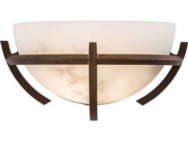 Minka Lavery Calavera Nutmeg Glass Wall Sconce MGO68014