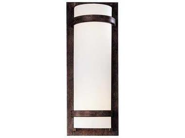 Minka Lavery Fieldale Lodge Iron Oxide Glass Wall Sconce MGO341357