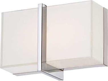 Minka Lavery High Rise Chrome Glass LED Vanity Light MGO292177L