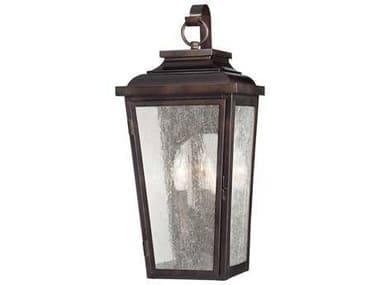 Minka Lavery Irvington Manor Chelesa Bronze Glass Outdoor Wall Light MGO72170189