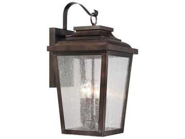 Minka Lavery Irvington Manor Chelesa Bronze Glass Outdoor Wall Light MGO72173189