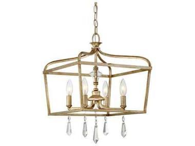 Minka Lavery Laurel Estate Brio Gold Glass Pendant Semi-Flush Mount MGO4447582