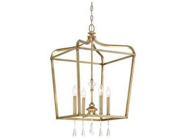Minka Lavery Laurel Estate Brio Gold Glass Pendant Semi-Flush Mount MGO4448582