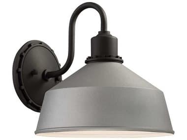 Minka Lavery Mantiel Sand Silver Industrial Outdoor Wall Light MGO71242295