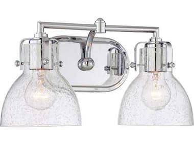 Minka Lavery Chrome Glass Vanity Light MGO572277