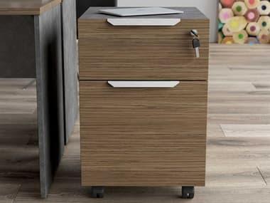 Modloft Broome Latte Walnut File Cabinet MOLDEWA704LWAL