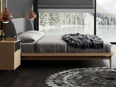 Modloft Haru Natural Oak King Platform Bed MOLDESKA014637KNAT