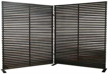Moe's Home Collection Damani 2 Panel Room Divider MECV101320