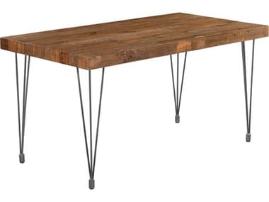 Moe's Home Collection Boneta 59 x 31.5 Rectangular Natural Dining Table MEXA105524