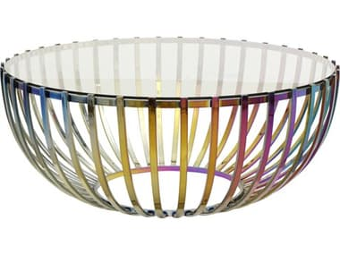 Moe's Home Collection Prism Multi 42'' Wide Round Coffee Table MEOT100737