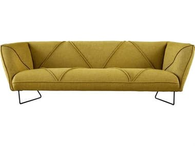 Moe's Home Collection Hexo Mustard Sofa Couch MEFJ100109
