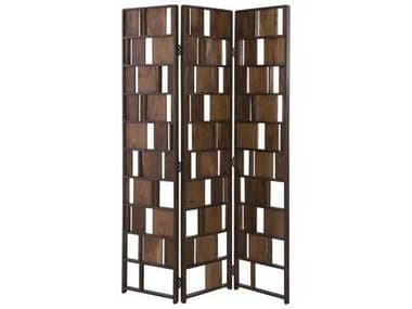Moe's Home Collection Multi 3 Panel Room Divider MEBZ101537