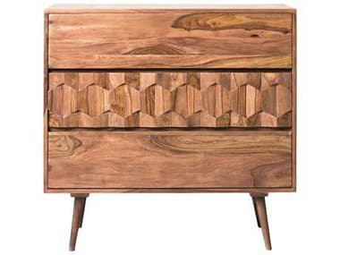 Moe's Home Collection O2 Natural 3 Drawers or less Chest of MEBZ102324