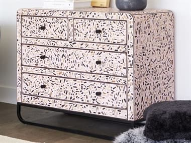 Moe's Home Collection Pink Accent Chest MEGZ101633