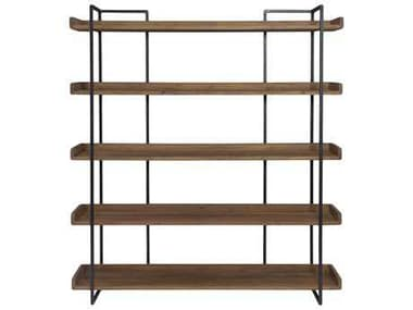Moe's Home Collection Vancouver Light Brown Bookcase MELX102603