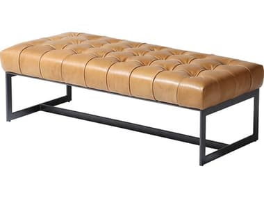 Moe's Home Collection Wyatt Tan Accent Bench MEQN100240
