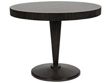 Noir Furniture Pale 39'' Wide Round Dining Table NOIGTAB532P