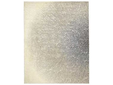 Nourison Twilight Rectangular Ivory Grey Area Rug NRTWI12IVGRY