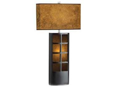 Nova Ventana Dark Brown Two-Light Table Lamp NOV0472DT
